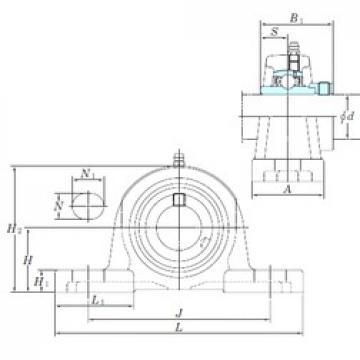 KOYO NAP212-39 bearing units