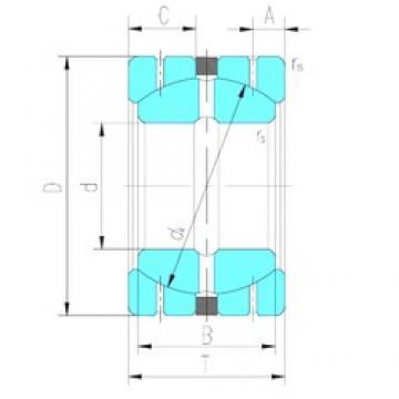 101,6 mm x 177,8 mm x 107,315 mm  LS GEGZ101HS/K plain bearings