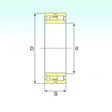 140 mm x 225 mm x 85 mm  ISB NNU 4128 M/W33 cylindrical roller bearings