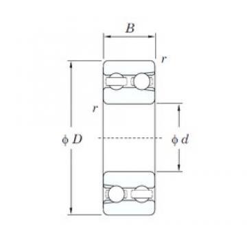 65 mm x 140 mm x 48 mm  KOYO 4313 deep groove ball bearings