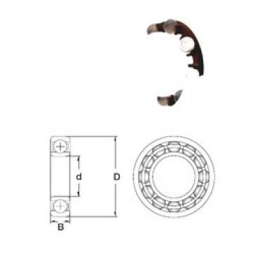 9 mm x 26 mm x 8 mm  ZEN P629-GB deep groove ball bearings