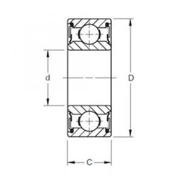 100 mm x 150 mm x 24 mm  Timken 9120NPP deep groove ball bearings
