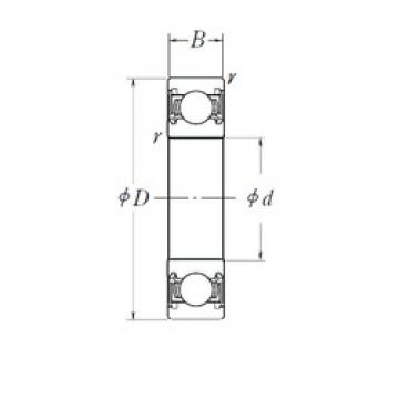 16 mm x 42 mm x 13 mm  NSK B16-7-A-1T12C4** deep groove ball bearings