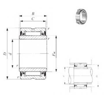 25 mm x 42 mm x 31 mm  IKO NA 6905UU needle roller bearings