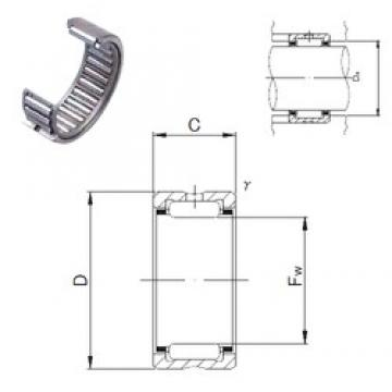 JNS NK24/20 needle roller bearings
