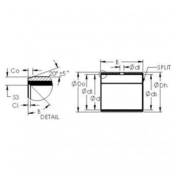 AST AST40 10580 plain bearings