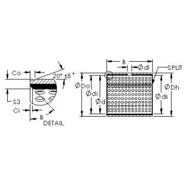 AST AST20 4520 plain bearings