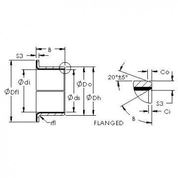 AST AST50 06FIB04 plain bearings