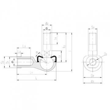 LS SQL16-RS plain bearings