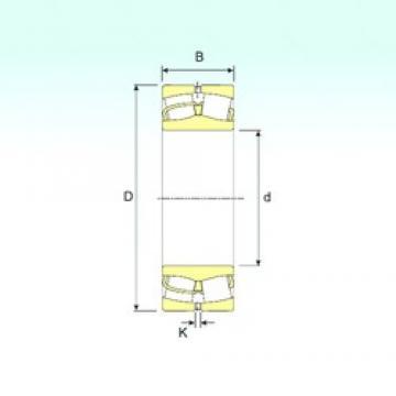 75 mm x 130 mm x 31 mm  ISB 22215 spherical roller bearings