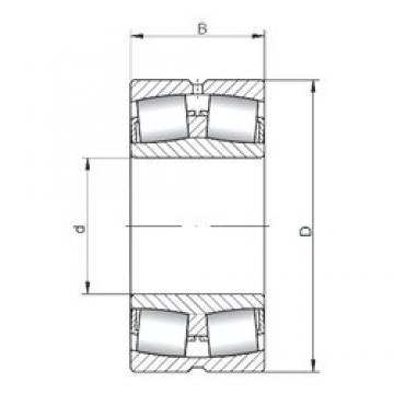 800 mm x 1060 mm x 195 mm  ISO 239/800W33 spherical roller bearings