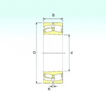 160 mm x 340 mm x 114 mm  ISB 22332 K spherical roller bearings