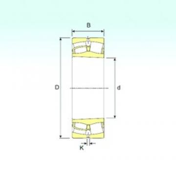 260 mm x 400 mm x 104 mm  ISB 23052 K spherical roller bearings