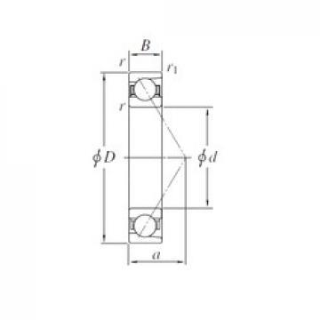 150 mm x 320 mm x 65 mm  KOYO 7330 angular contact ball bearings