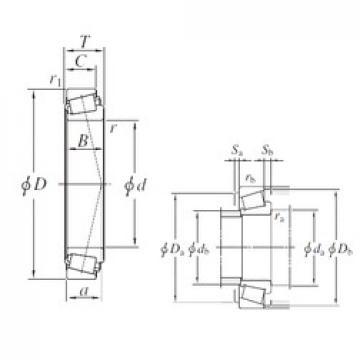 110 mm x 165 mm x 35 mm  KOYO JM822049/JM822010 tapered roller bearings