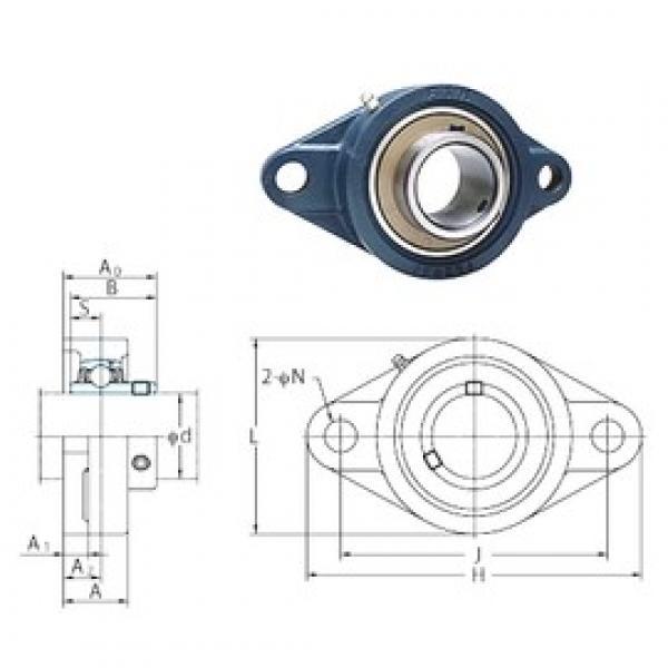 FYH UCFL205-16 bearing units #3 image