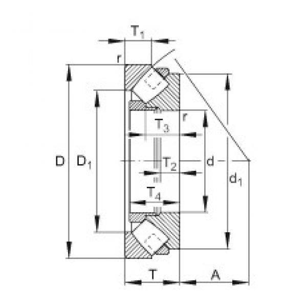 FAG 292/710-E-MB thrust roller bearings #3 image