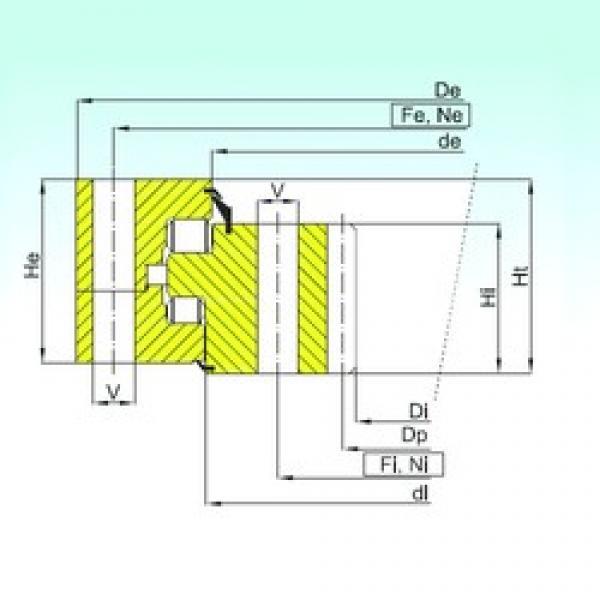 ISB ZR3.32.2800.400-1SPPN thrust roller bearings #3 image