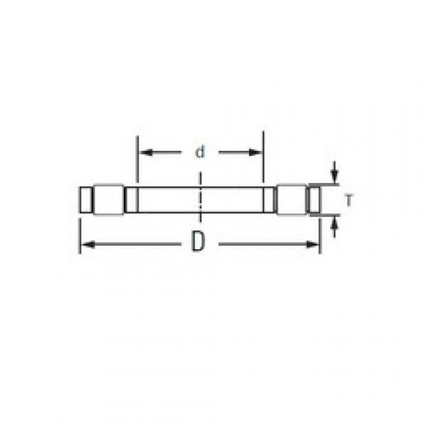 KOYO K,81211TVP thrust roller bearings #1 image
