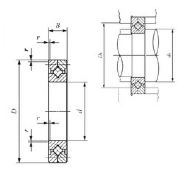 30 mm x 55 mm x 10 mm  IKO CRB 3010 thrust roller bearings #3 image