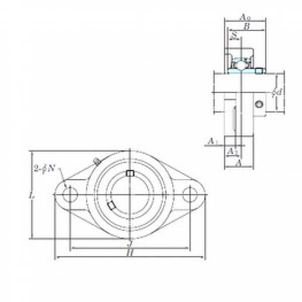 KOYO UCFLX08-24 bearing units #3 image