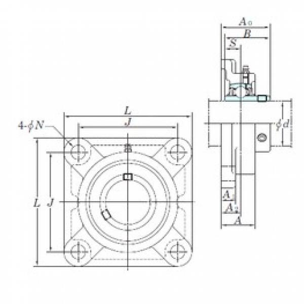 KOYO UCFX12-39E bearing units #3 image