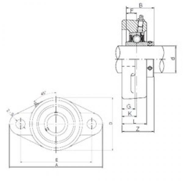 80 mm x 180 mm x 82,6 mm  ISO UCFL216 bearing units #3 image