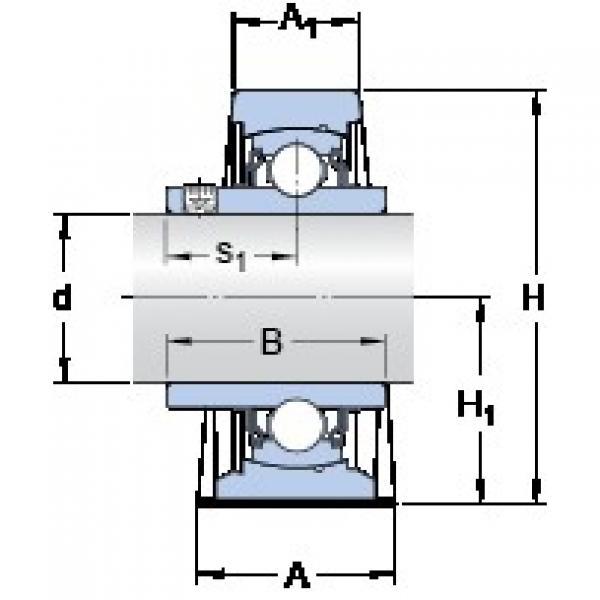 SKF SY 1.1/2 TF/VA201 bearing units #3 image