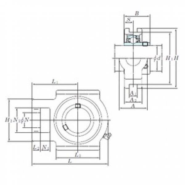 KOYO UCT214 bearing units #3 image