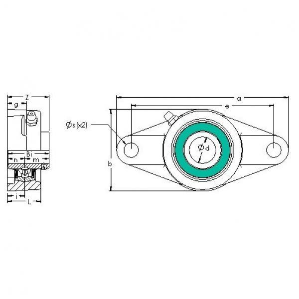 AST UCFL 210-30 bearing units #3 image