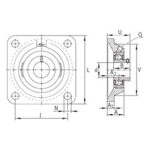 INA PCJY12 bearing units #3 image