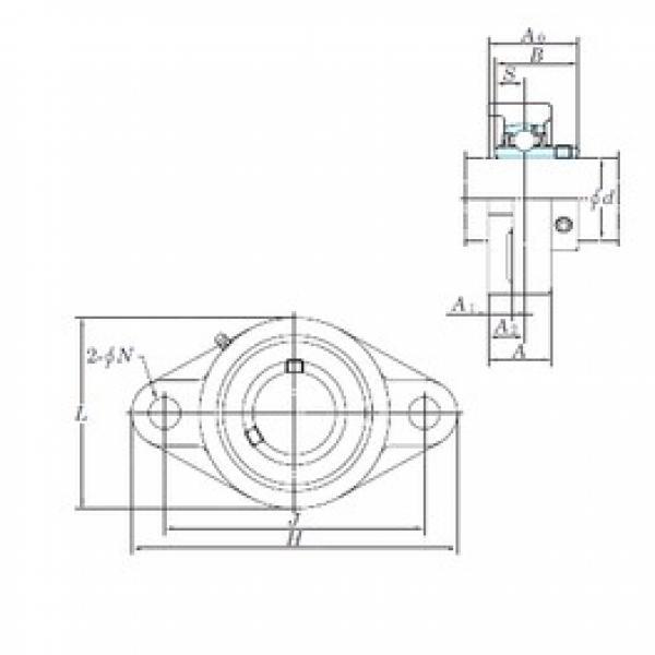 KOYO UCFL210-31E bearing units #3 image