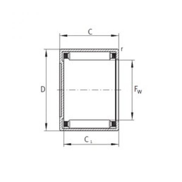INA BCE2212 needle roller bearings #3 image