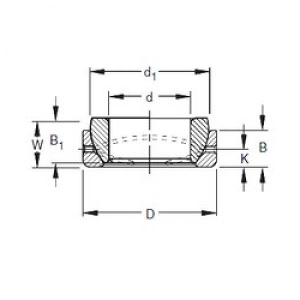 Timken 10SBT16 plain bearings #3 image