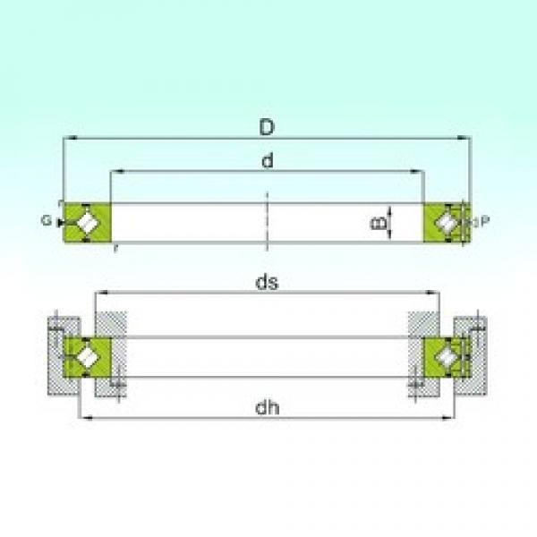 60 mm x 90 mm x 13 mm  ISB CRBH 6013 A thrust roller bearings #3 image