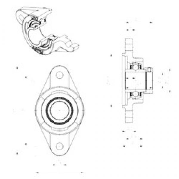 SNR EXFLZ208 bearing units #3 image