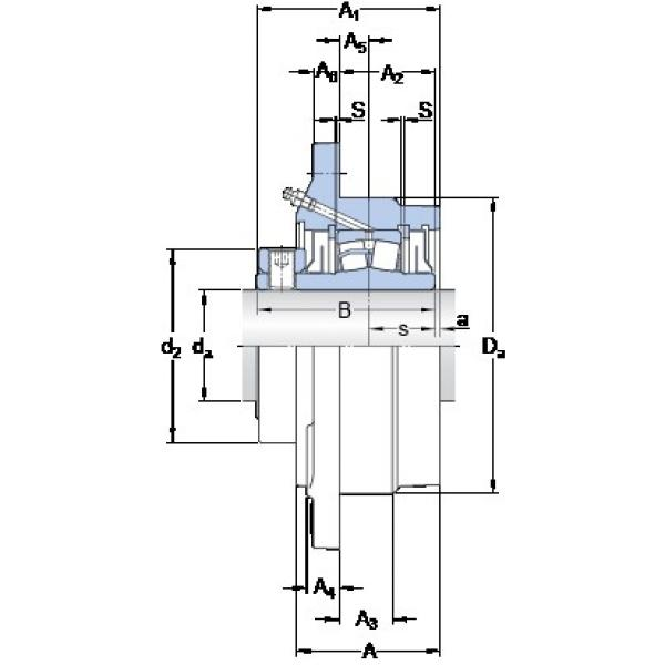 SKF FYRP 2 15/16-18 bearing units #3 image