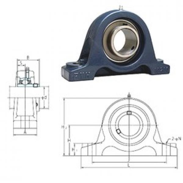 FYH UCIP319 bearing units #3 image