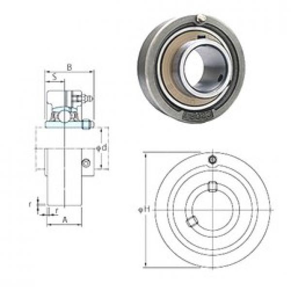 FYH UCC212-39 bearing units #3 image