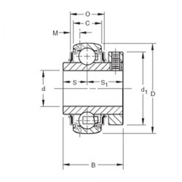 25 mm x 52 mm x 34,13 mm  Timken GCE25KRRB deep groove ball bearings #3 image