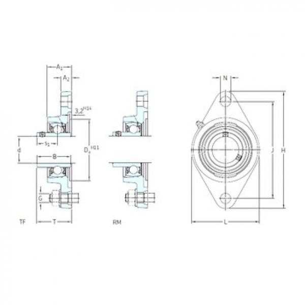 SKF FYT 1. RM bearing units #3 image