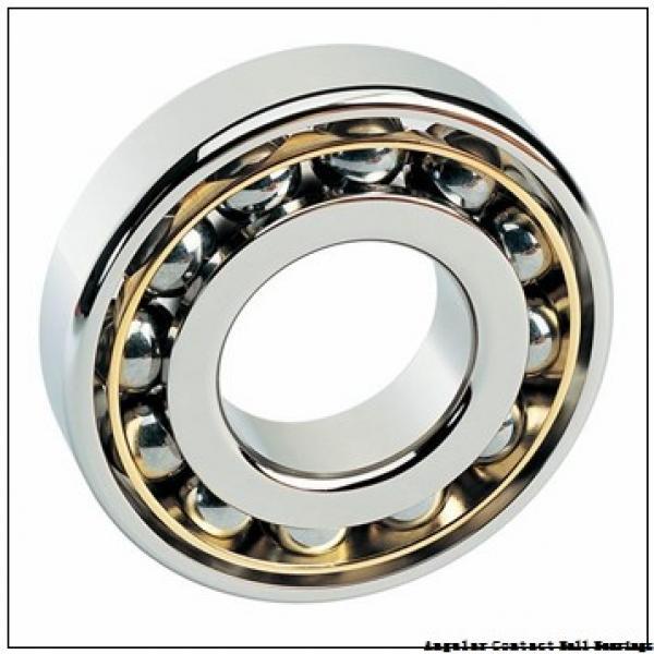 40 mm x 74 mm x 42 mm  ILJIN IJ141011 angular contact ball bearings #1 image