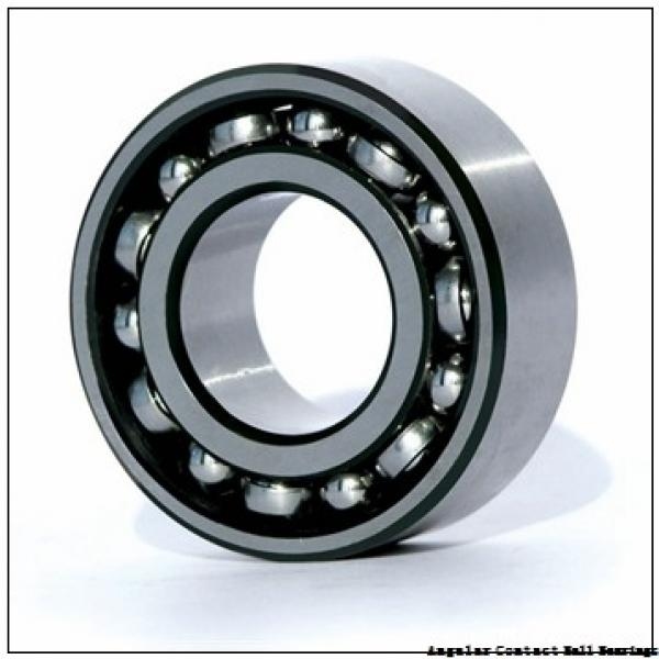 17 mm x 35 mm x 10 mm  ISO 7003 C angular contact ball bearings #2 image