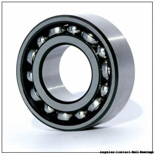40 mm x 74 mm x 42 mm  ILJIN IJ141011 angular contact ball bearings #2 image