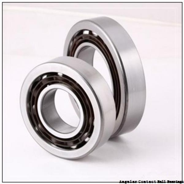 35 mm x 72 mm x 17 mm  NACHI 7207BDT angular contact ball bearings #2 image