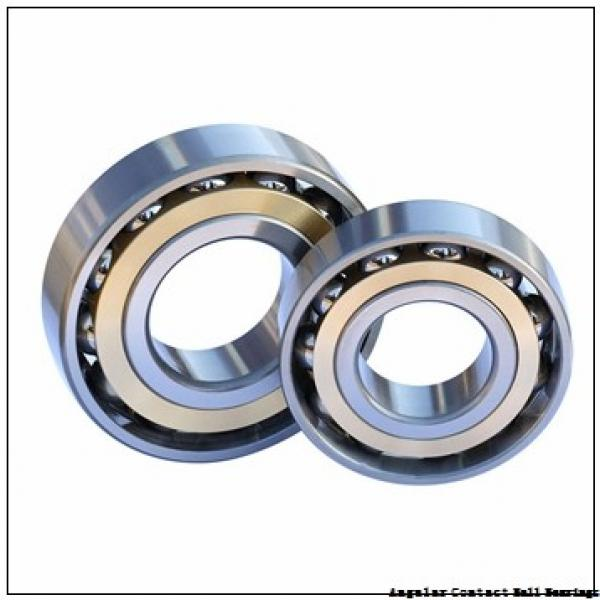 12,7 mm x 33,338 mm x 9,53 mm  SIGMA LJT 1/2 angular contact ball bearings #2 image