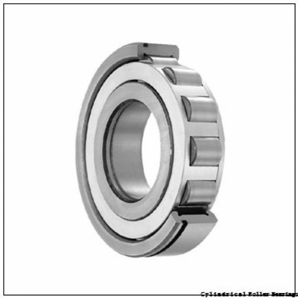 95 mm x 170 mm x 43 mm  NKE NJ2219-E-MA6 cylindrical roller bearings #1 image