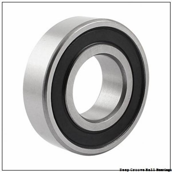 3,175 mm x 6,35 mm x 2,779 mm  ISO R144-2RS deep groove ball bearings #1 image