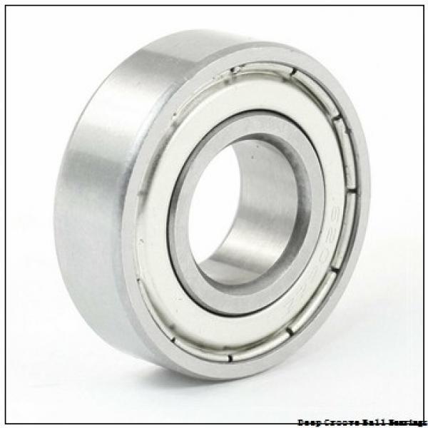 1,5 mm x 6 mm x 3 mm  FBJ 601XZZ deep groove ball bearings #1 image