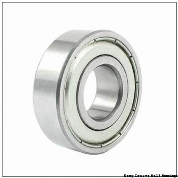 5 mm x 16 mm x 5 mm  NMB RF-1650 deep groove ball bearings #1 image